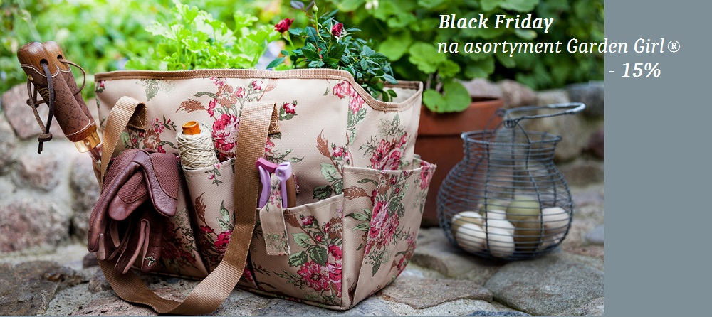 Promocja Garden Girl Black Friday